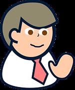 happy man cartoon pixabay free